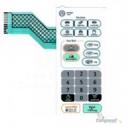 Membrana Teclado Microondas Consul FACILIT CMS 26A